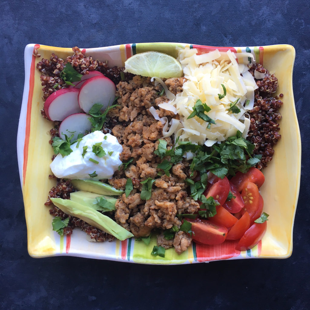 Mexican Chicken & Quinoa Nourish Bowl
