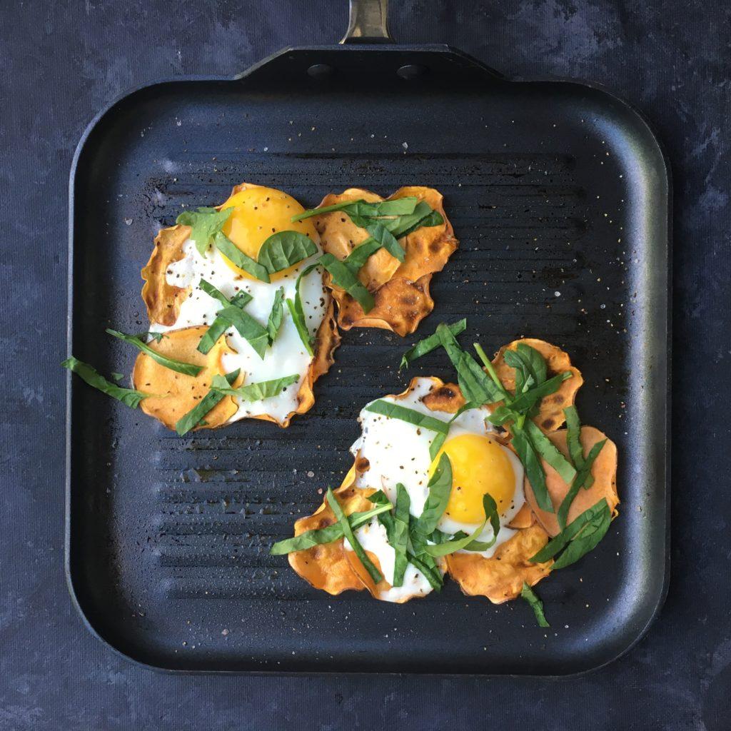 Sweet Potato & a Sunny Side