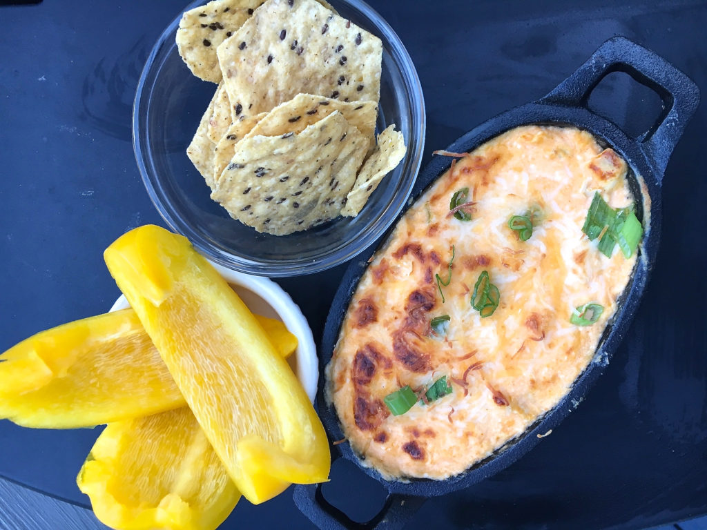 Low FODMAP Buffalo Chicken Dip