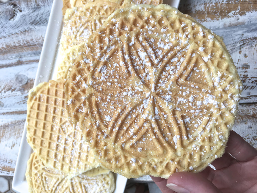 Gluten Free Pizzelle Cookies