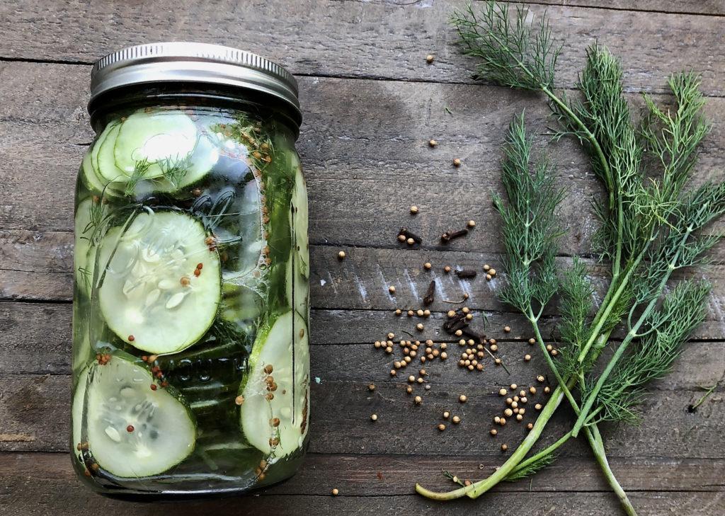 Super Quick Refrigerator Pickles