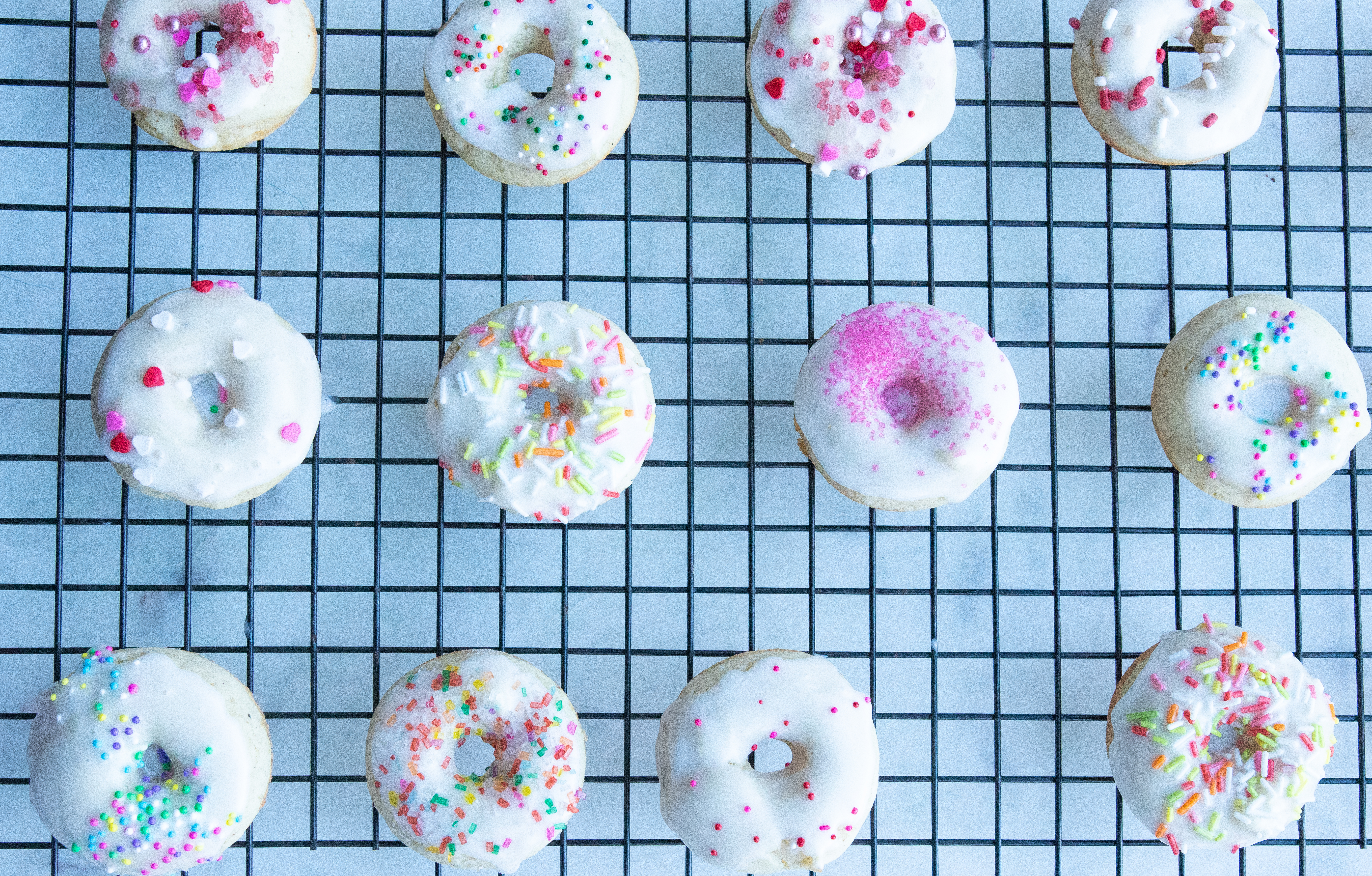 Low FODMAP Baked Mini Doughnuts