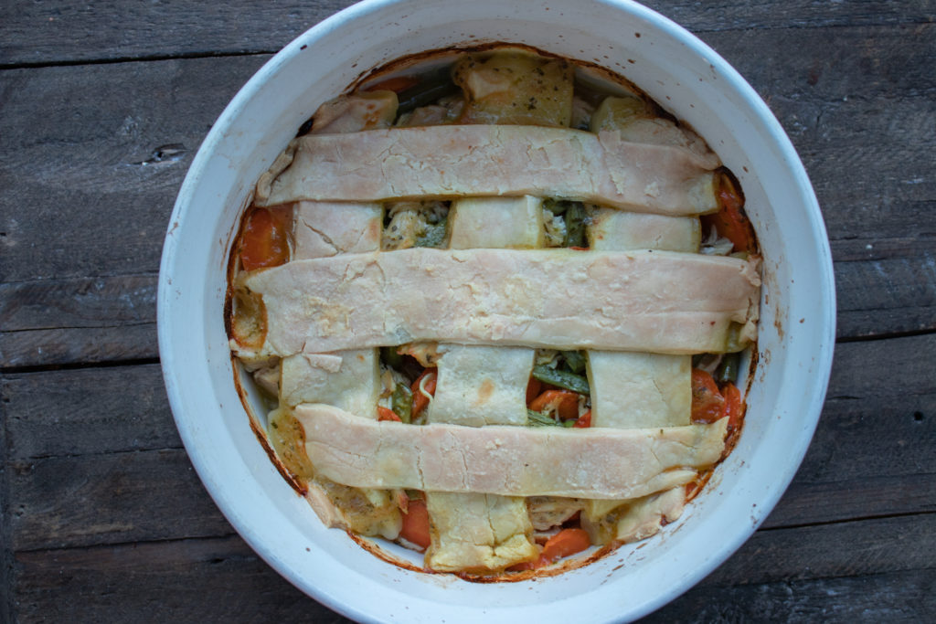 Low FODMAP Chicken Pot Pie