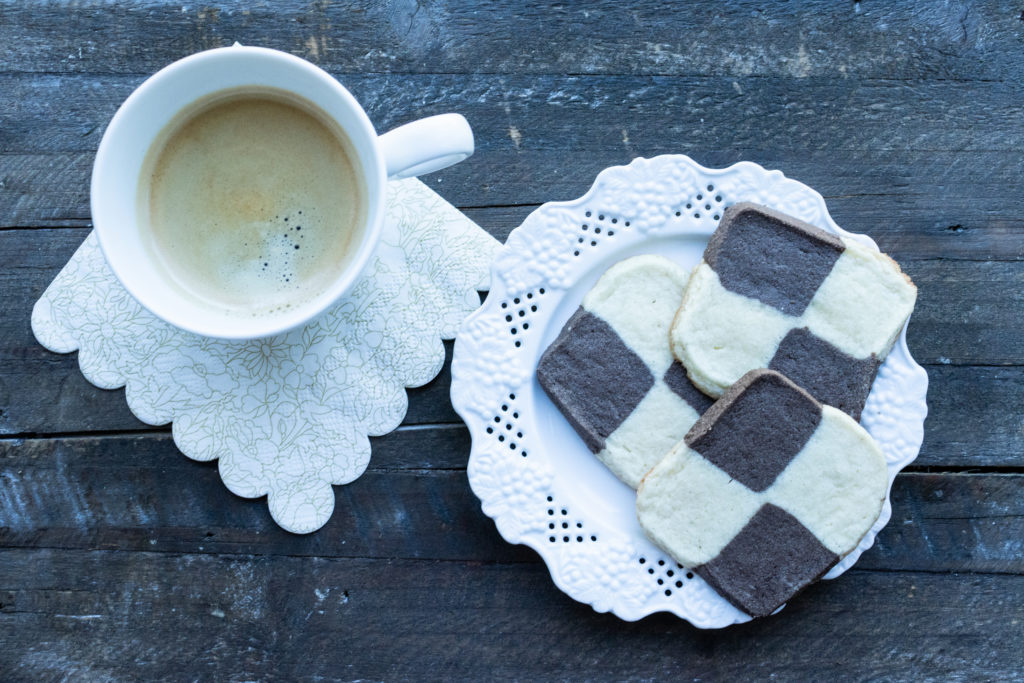 Checkerboard Cookies (low FODMAP)